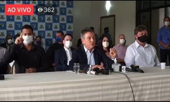 Denarium exonera secretário de saúde por compra superfaturada de respiradores