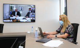 Prefeita pede remédio para postos e reclama de Denarium para governo federal