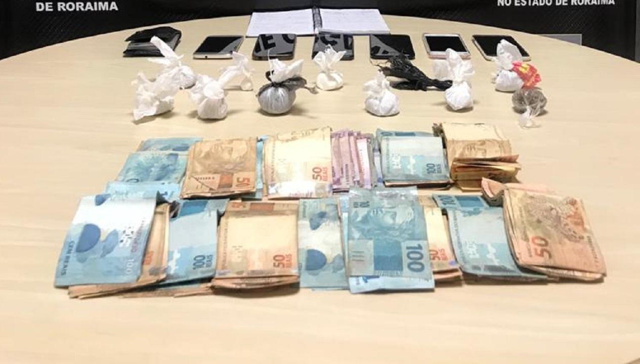 Ficco prende comerciante por tráfico de drogas