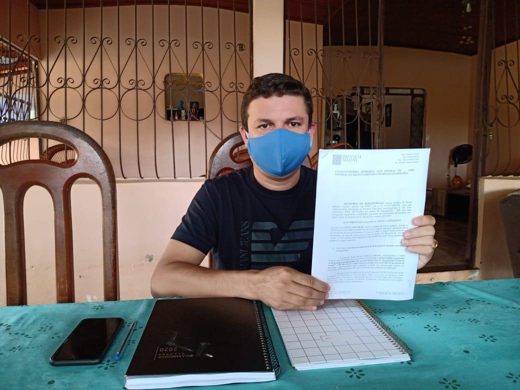 PANDEMIA: Prefeito pede na Justiça o fechamento parcial da BR-174