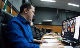 Autoridades fazem audiência virtual para debater combate à covid-19