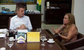 Prefeita e governador discutem em rede social