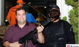 Magistrados repudiam foto de Deputado com fuzil criticando judiciário