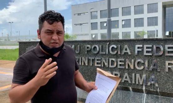 Vereador denuncia Prefeito na Polícia Federal