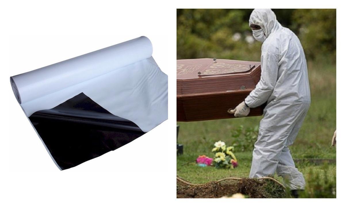 Prefeitura compra sacos para enterrar vítimas de coronavírus
