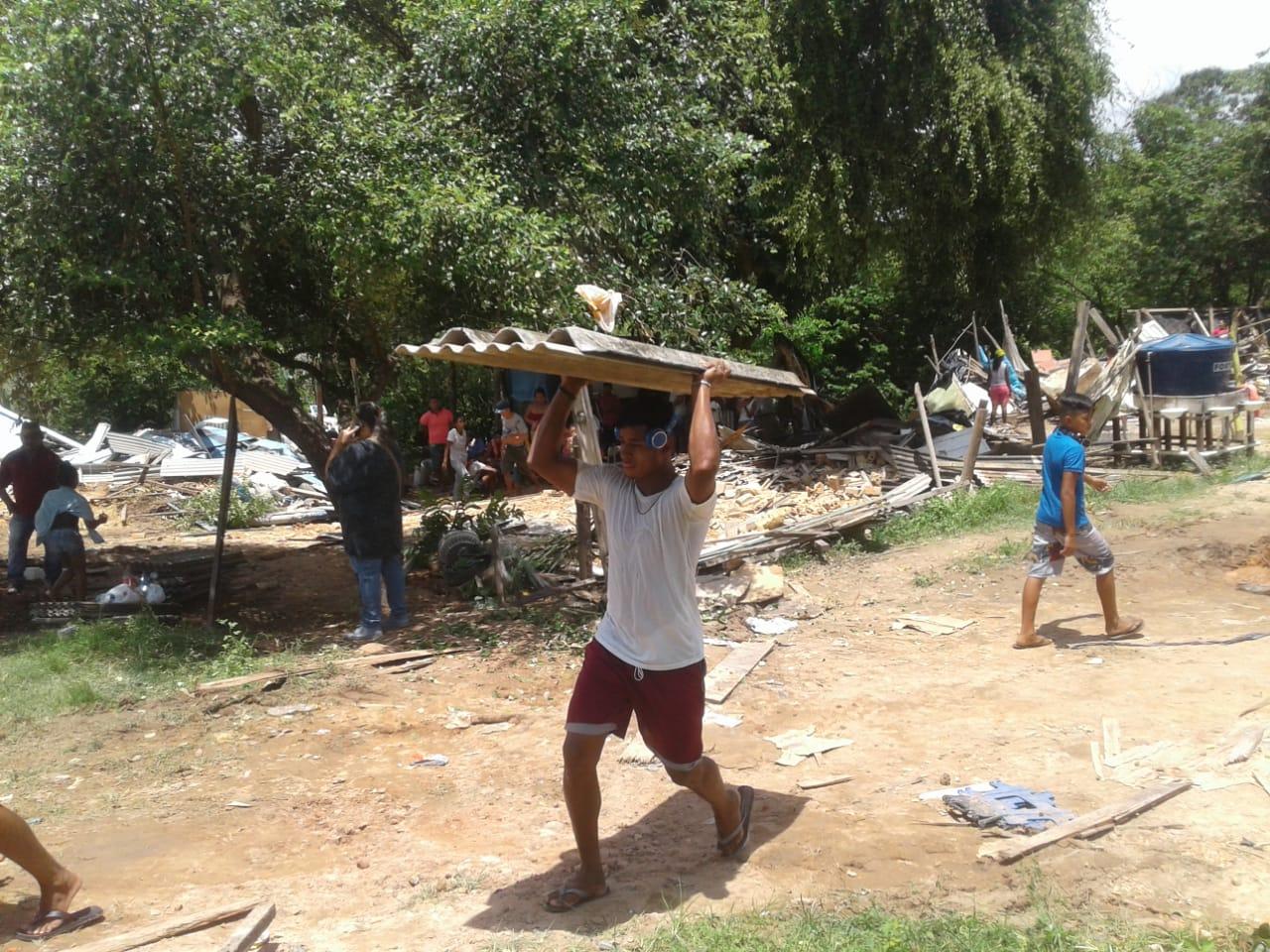 Defensoria classifica como crime retirada de famílias da ocupação Beira Rio pela Prefeitura