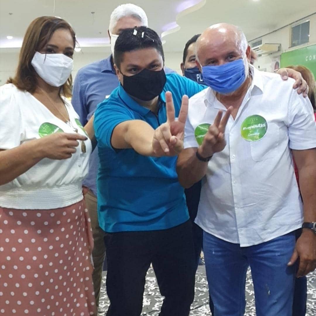ELEIÇÕES 2020: Luciano Castro oficializa candidatura à Prefeitura e anuncia professora como vice