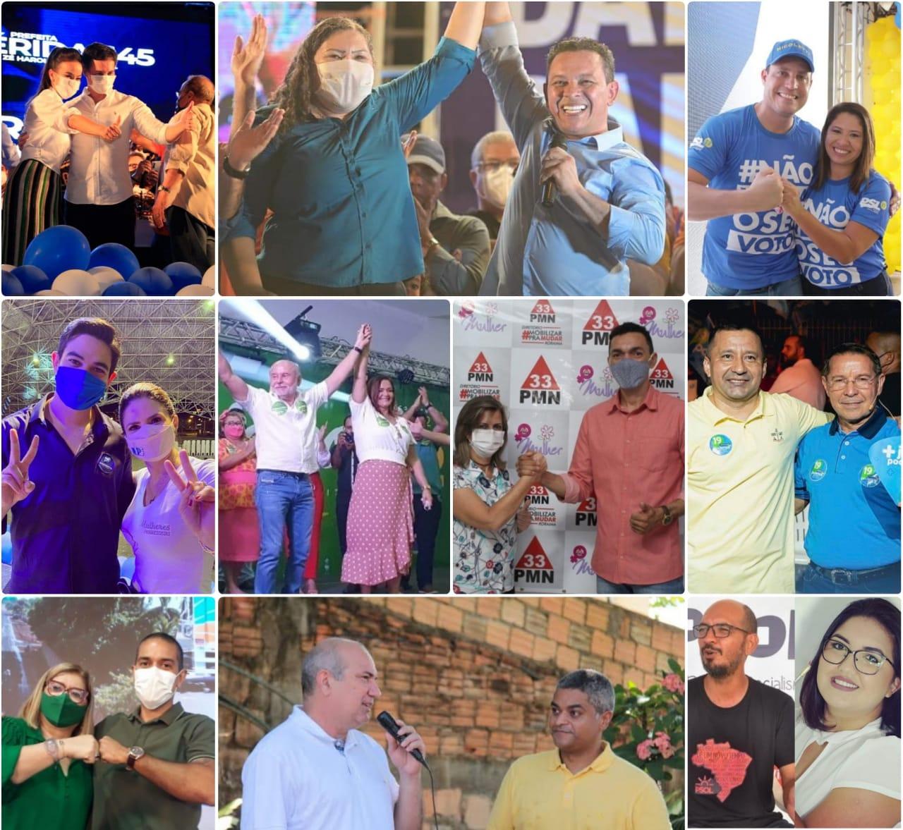 ELEIÇÕES 2020 <br/> Após convenções, 10 candidatos permanecem na disputa pela Prefeitura de Boa Vista