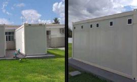 Prefeitura gastará quase R$ 1 milhão com telhado de contêineres