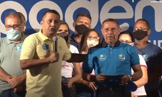 Pastor Isamar confirma candidatura à Prefeitura e terá major da PM como vice