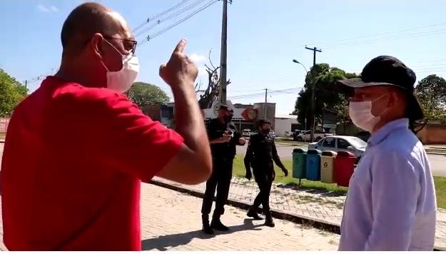 Candidato a prefeito é detido após gravar vídeo em frente à Secretaria Municipal