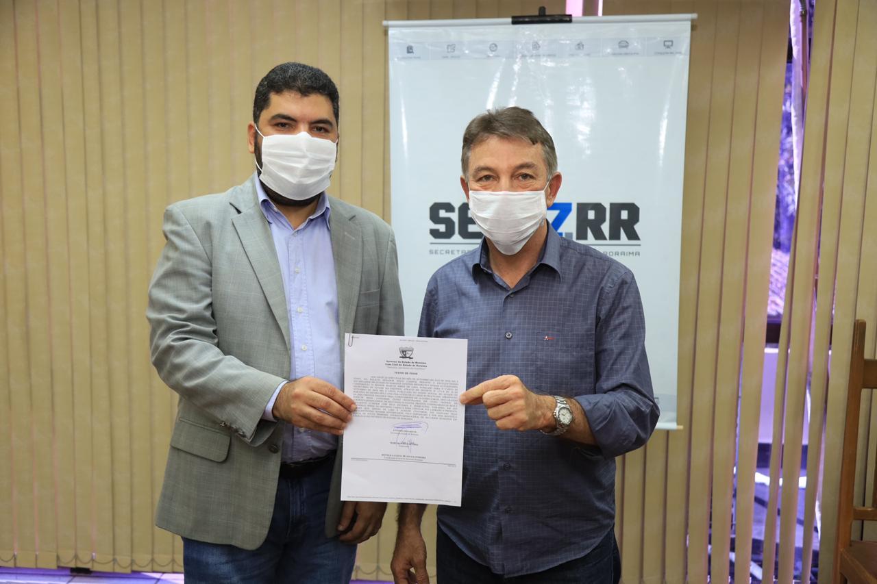 Marcos Jorge toma posse como secretário de Fazenda