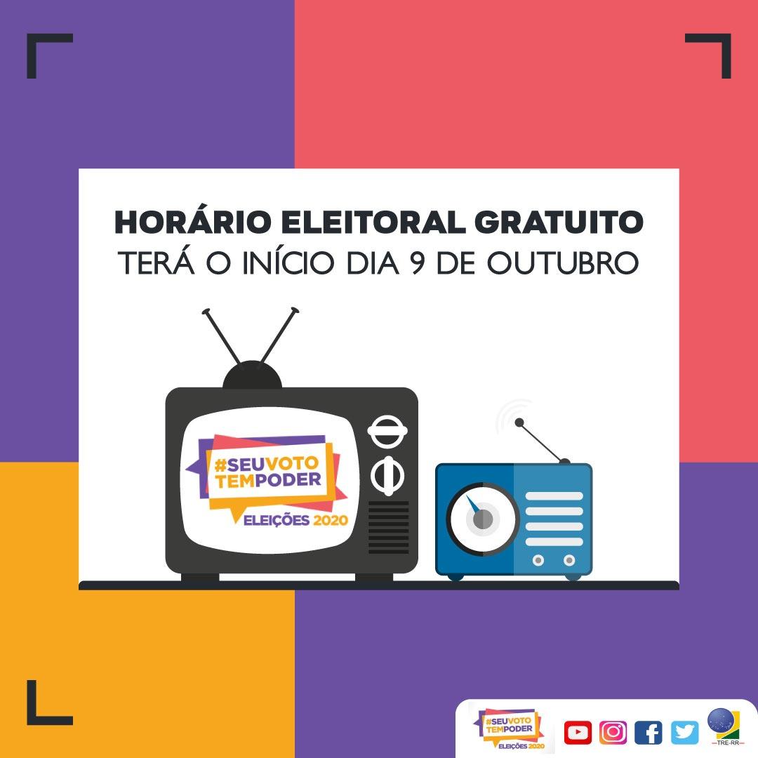 You are currently viewing ELEIÇÕES 2020: Horário eleitoral gratuito no rádio e TV começa nesta sexta-feira