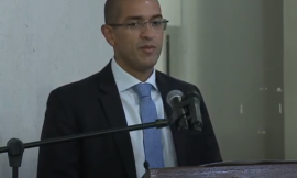 Arthur Henrique é diplomado pedindo apoio da Câmara Municipal