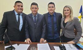 Vereador é eleito presidente da Câmara de Caracaraí pela terceira vez em uma semana