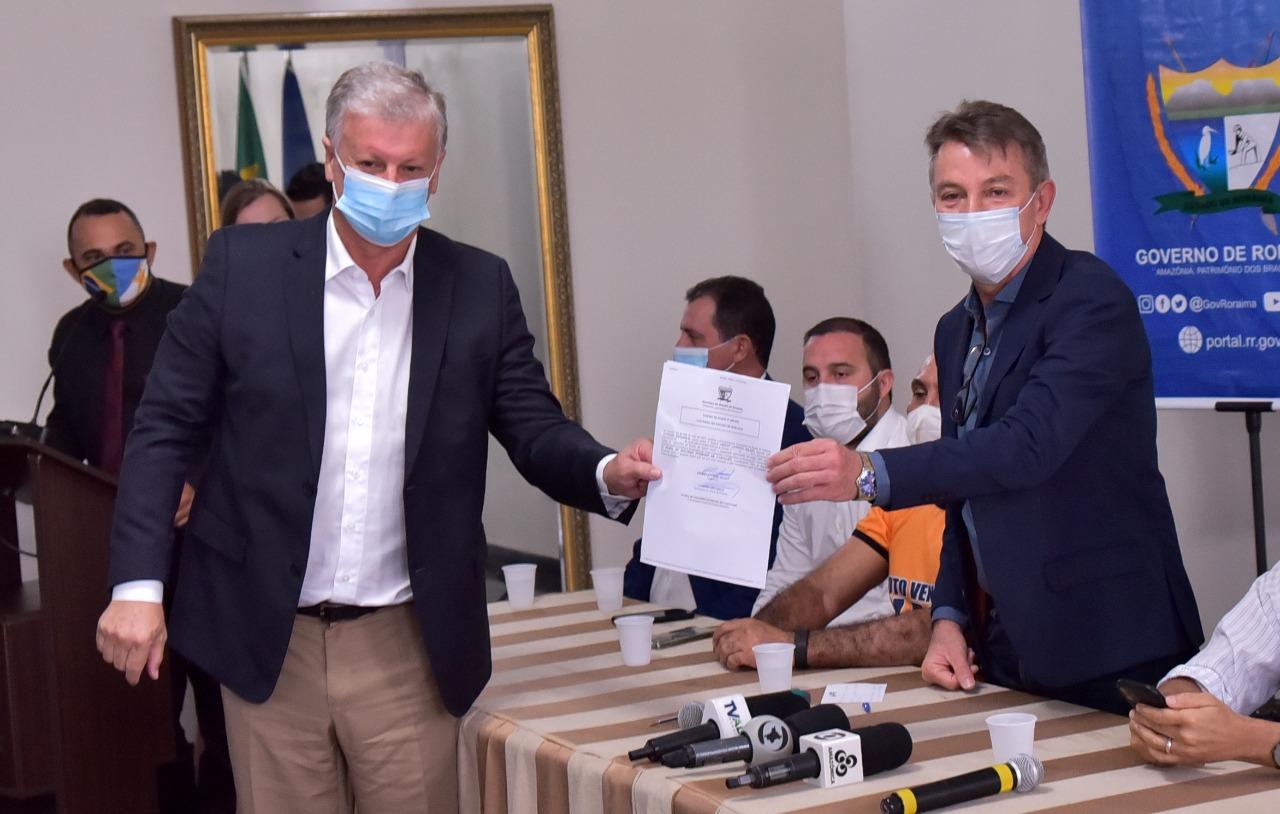 Airton Cascavel é empossado como novo secretário de Saúde