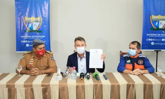 Governador declara situação de emergência em 9 municípios afetados pelas chuvas