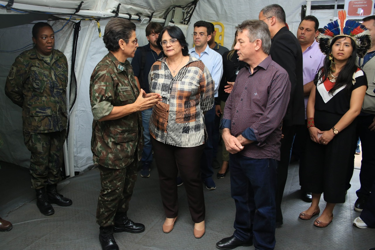You are currently viewing Ministra Damares Alves visita Roraima para entrega veículos e ações de diretos humanos