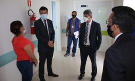 Hospital da Criança passa por inspeção do MPRR após denúncia de demora no atendimento e falta de médicos