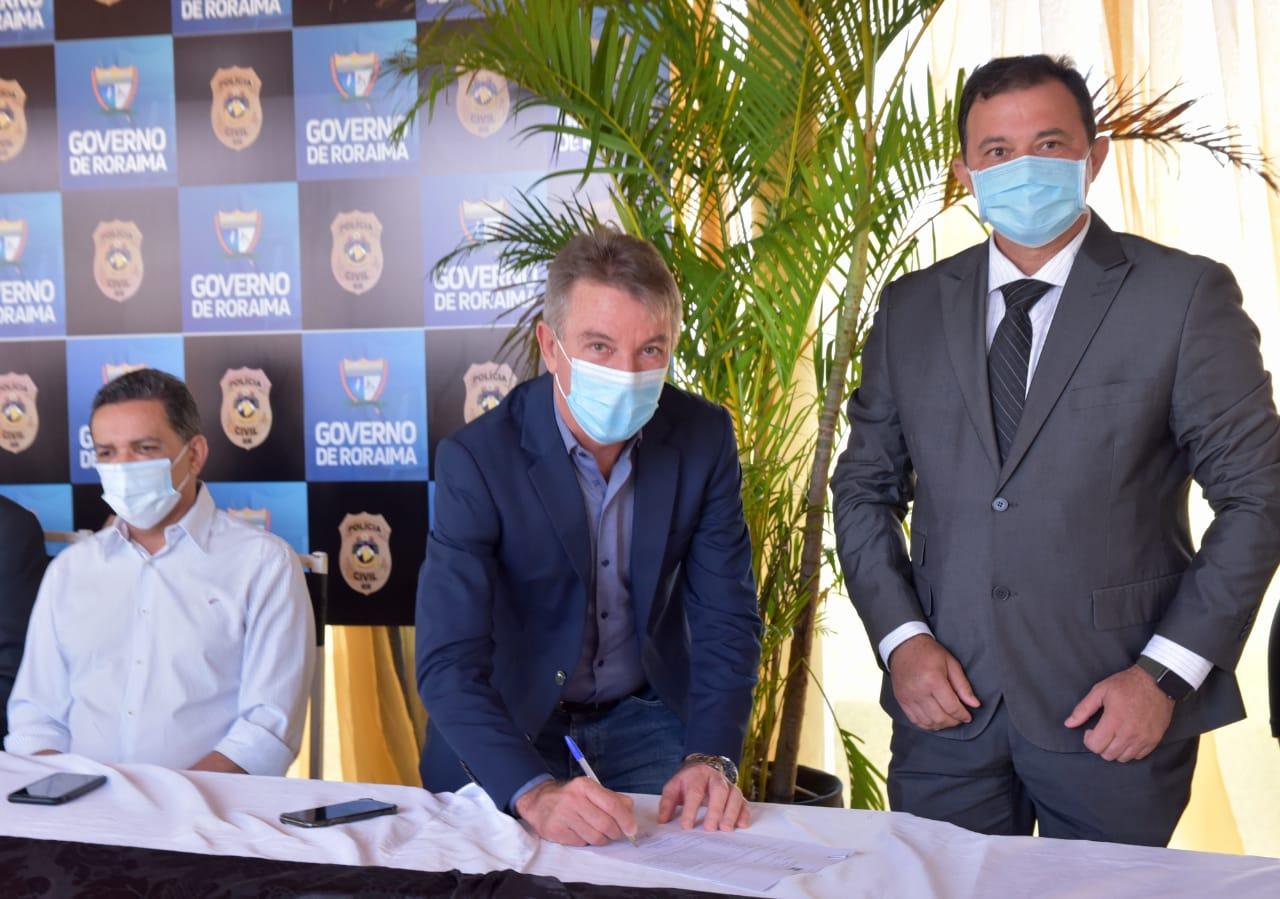 You are currently viewing Governador anuncia concurso público e restruturação da Polícia Civil