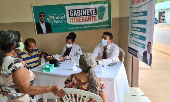 Vereador passa a atender em gabinete itinerante para dinamizar atendimento de demandas