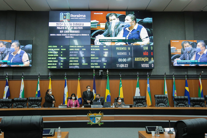 You are currently viewing Assembleia aprova PL que institui 'Semana Estadual de Conscientização da Síndrome de Prader-Willi'
