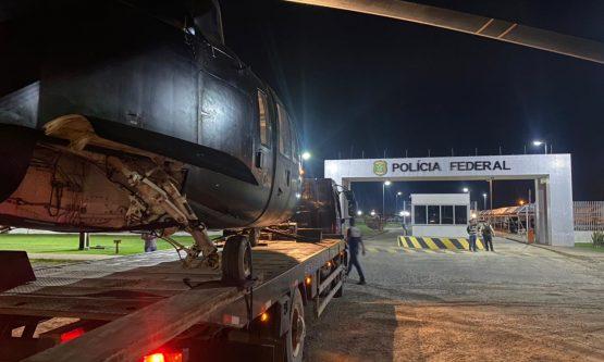 Garimpeiro é preso e helicópteros são apreendidos em operação da PF